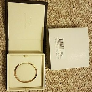 Daniel Wellington Classic Cuff in small rose gold